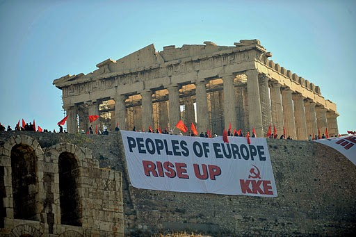 Sprechen wir griechisch mit den Herrschenden!