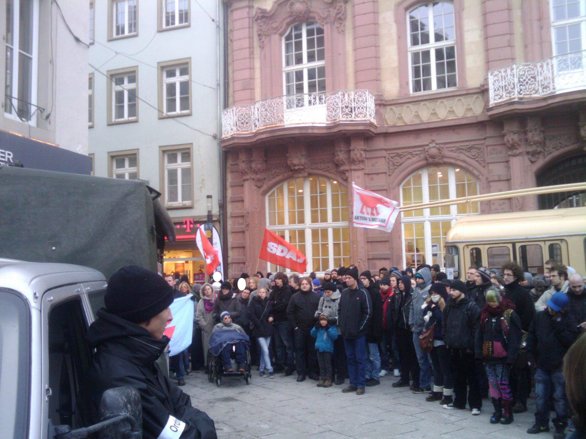 Trier: Ein guter Samstag im kalten Dezember