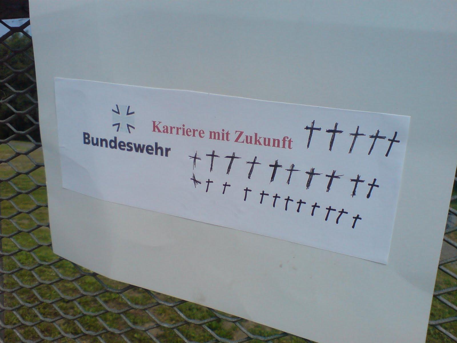 Bundeswehr wirbt auch 2011 weiter