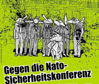 Gegen Krieg und Krise: SiKo-Proteste 2011 in München