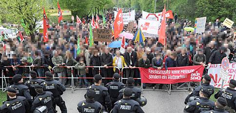 München: Solidarität mit denen, die sitzen bleiben!