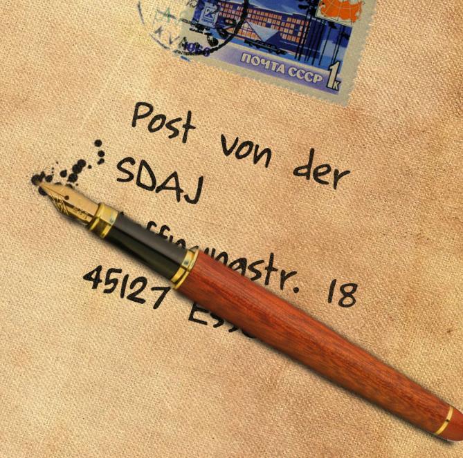 Post von der SDAJ: Der Offene Brief an Sigmar Gabriel