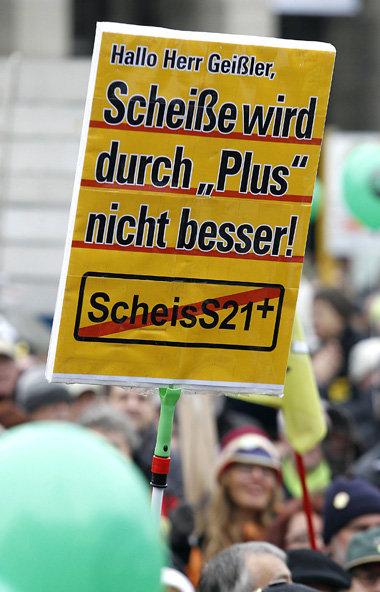 Stuttgart 21: Aufruhr im Ländle