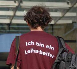 """Leiharbeit muss zurückgedrängt werden!"""