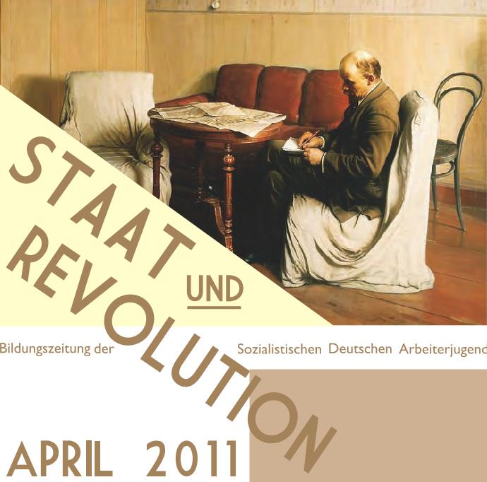 """Bildungszeitung """"Staat und Revolution"""" online!"""