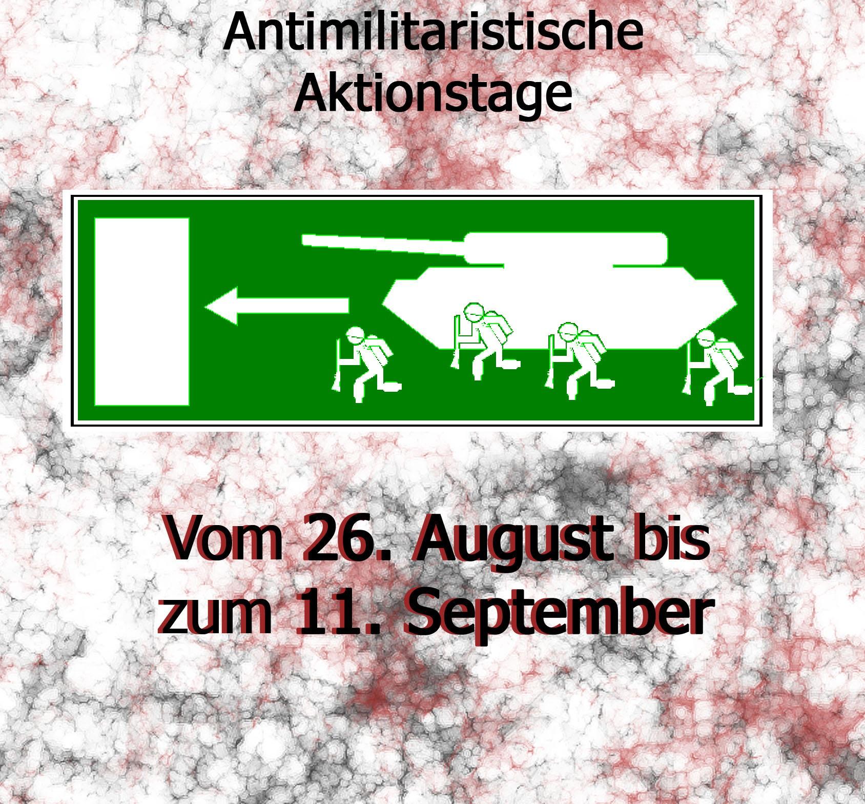 Wuppertal: Antimilitaristische Aktionstage gegen Krieg und Faschismus