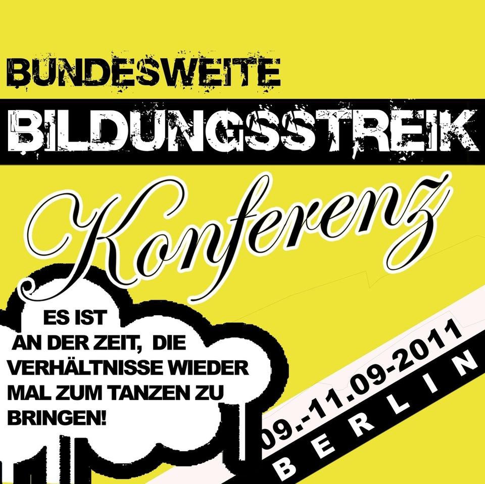 Bundesweite Bildungsstreikkonferenz Berlin 2011
