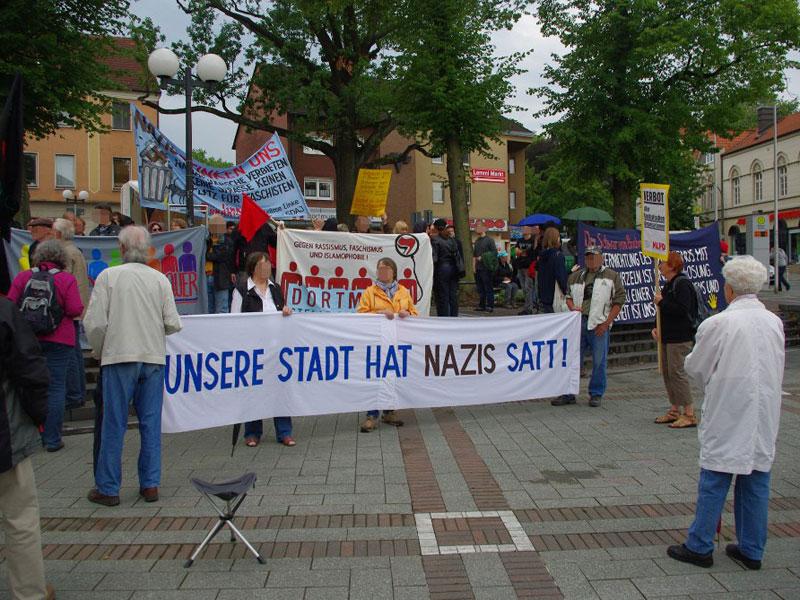 Dortmund: Erfolgreiche Kundgebung gegen Nazigewalt