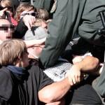 """Räumung der Blockade in """"Roten Zone"""""""