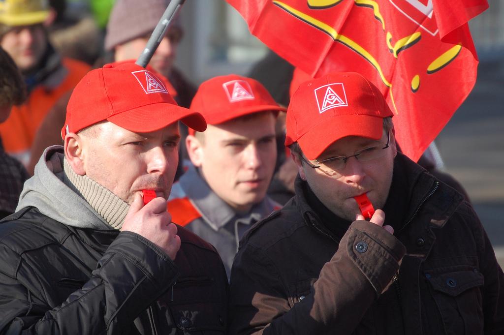 Kiel: Wehrt den Anfängen, Das Streikrecht verteidigen!