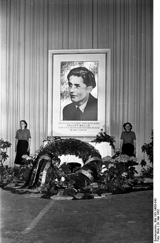 Essen: 60. Jahrestag der Ermordung von Philipp Müller