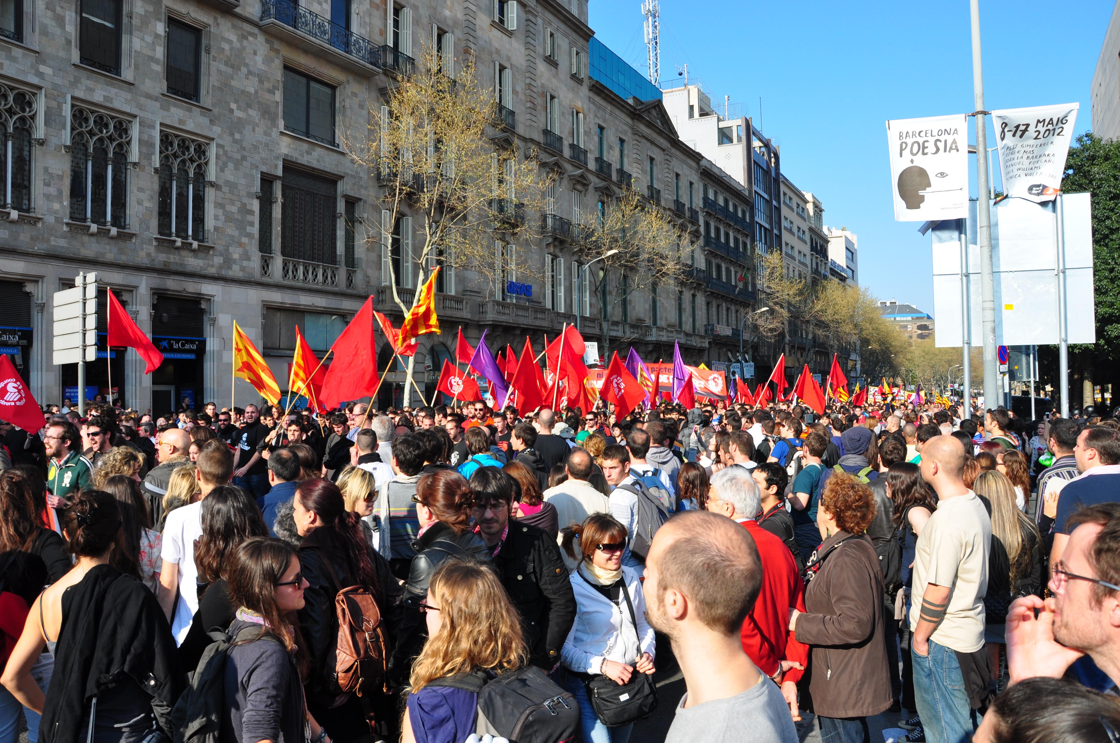 Hamburg: Solidarität mit dem Kampf der spanischen Jugend!