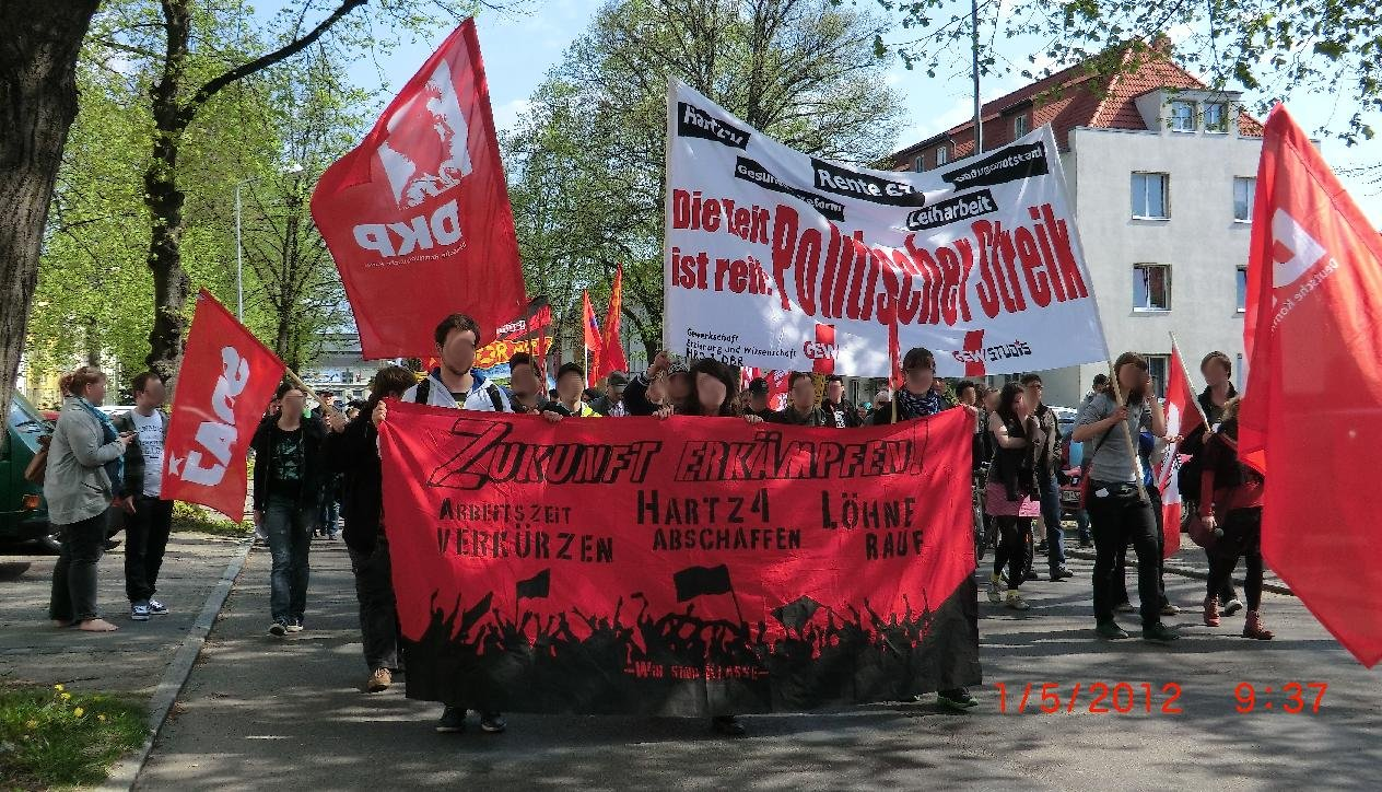 Rostock: Der 1. Mai – Zukunft erkämpfen