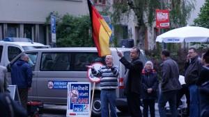 """Kundgebung der selbsternannten """"Bürgerbewegung"""" Pro NRW"""