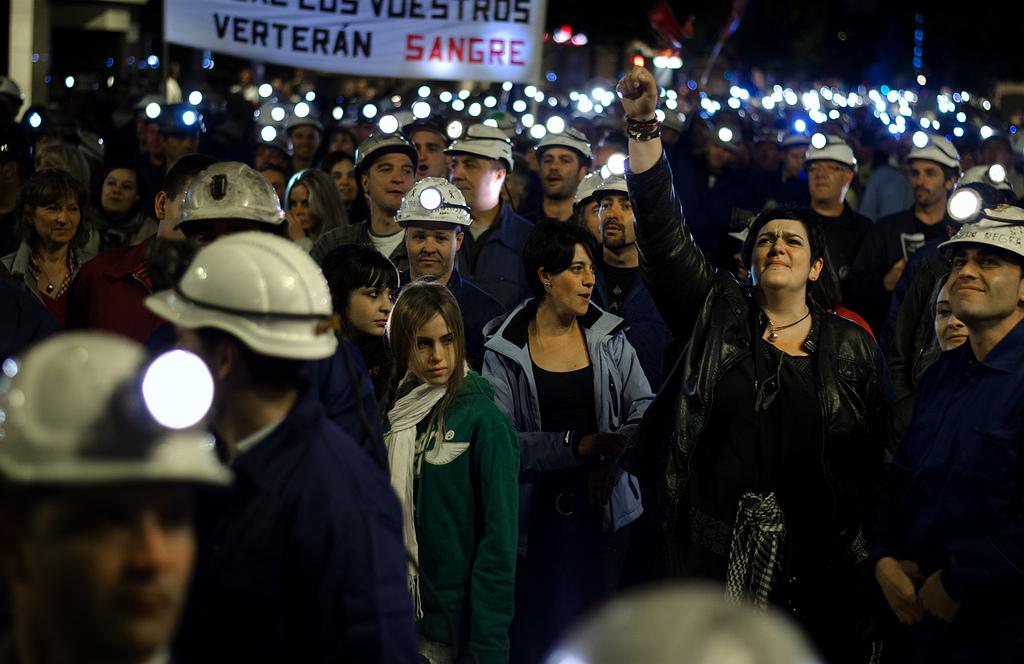 Rosenheim: Solidarität mit den streikenden Minenarbeitern!