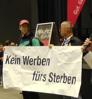 Bochum: Kein Werben für's Sterben!