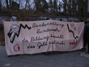 Aktionswoche für Kostenfreie Bildung 2012 in Berlin