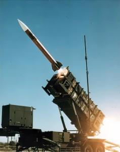 Abschuss einer Patriot-Rakete
