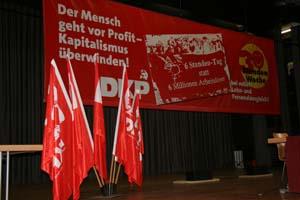 XX. Parteitag der DKP in Mörfelden