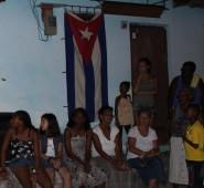 Wir feiern gemeinsam mit den CubanerInnen die Fiesta Moncada
