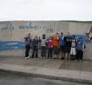 Revolutionäre Wandbilder in Santa Clara