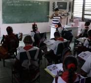 Auf Cuba hat eine Klasse nicht mehr als 20 SchülerInnen