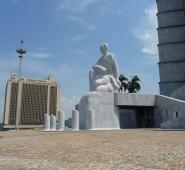 Das wahrscheinlich größte Martí Denkmal