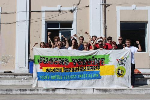 Jugend vereint gegen Imperialismus – für eine Welt des Friedens, der Solidarität und der sozialen Gerechtigkeit!