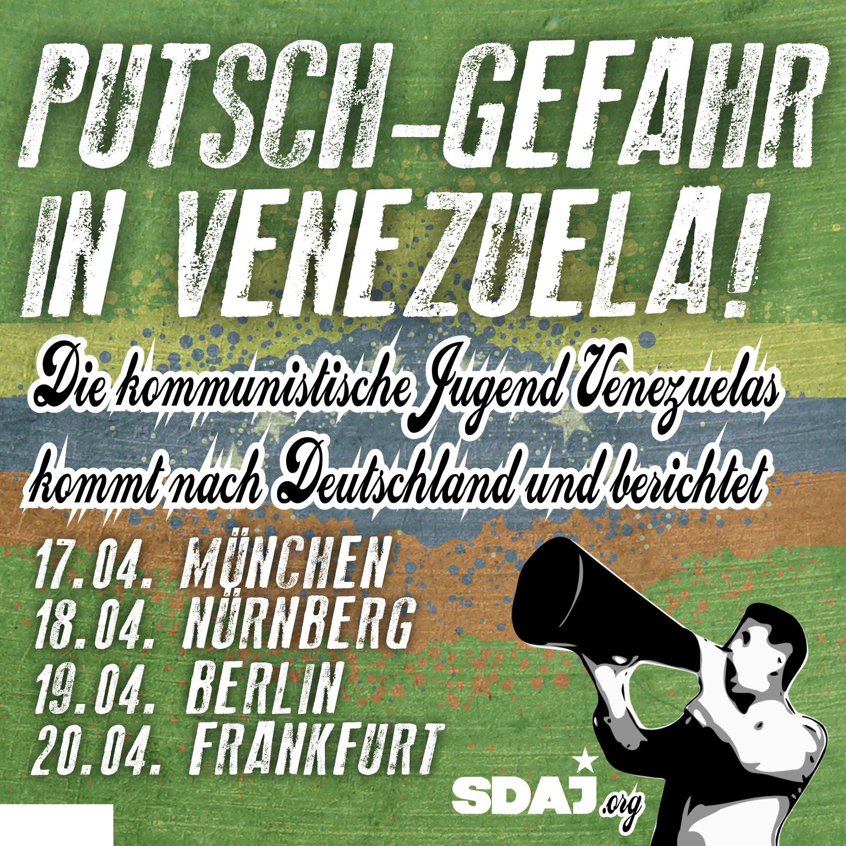 Putschgefahr in Venezuela!