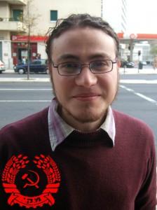 Uri Weltman, Mitglied des Zentralkomitees der Kommunistischen Partei Israels (CPI) und der Young Communist League of Israel (YCLI)  (foto: Kommunistische Jugend Österreichs, KJÖ)