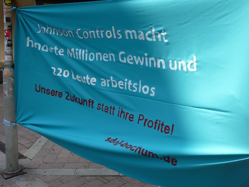 SDAJ Bochum versus Johnson Controls