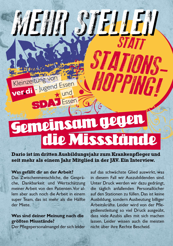 Outing in Essen: Gegen Stationshopping