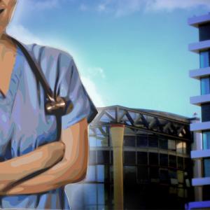 Krankes Klinikum