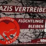 Nazis vertreiben, Flüchtlinge bleiben