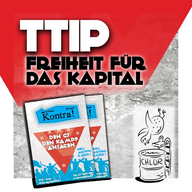 TTIP – Freiheit für das Kapital