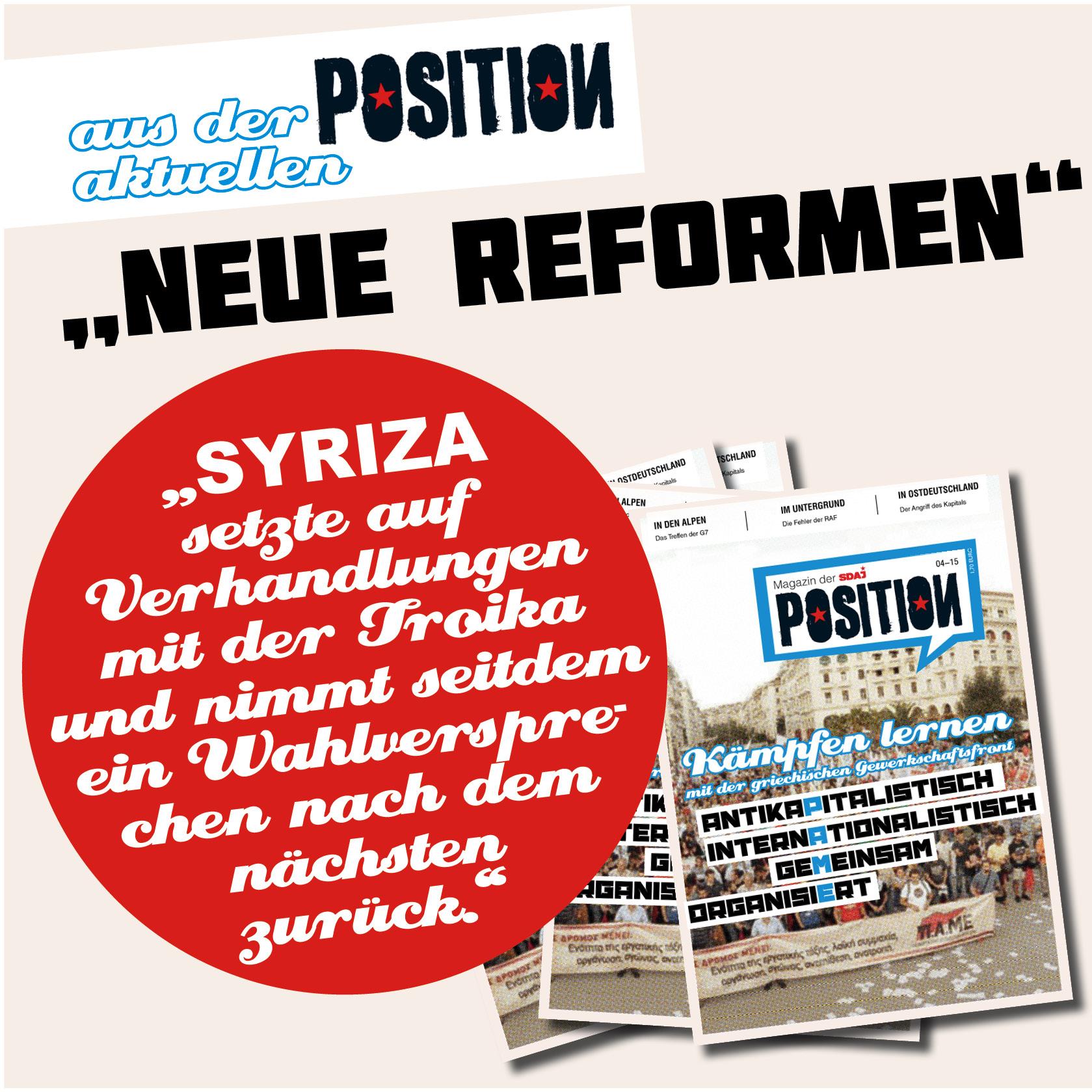 Neue Reformen