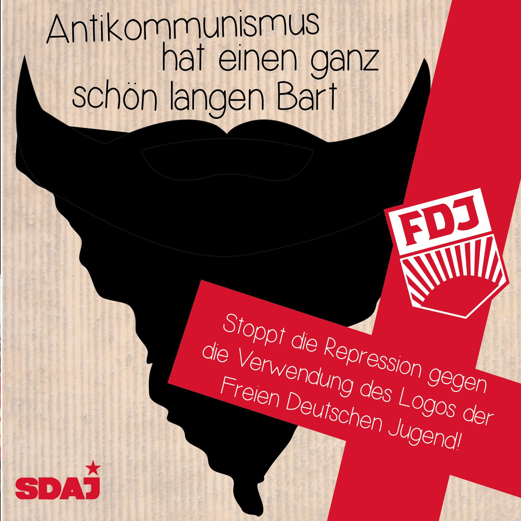 Gegen antikommunistische Repression wehren!