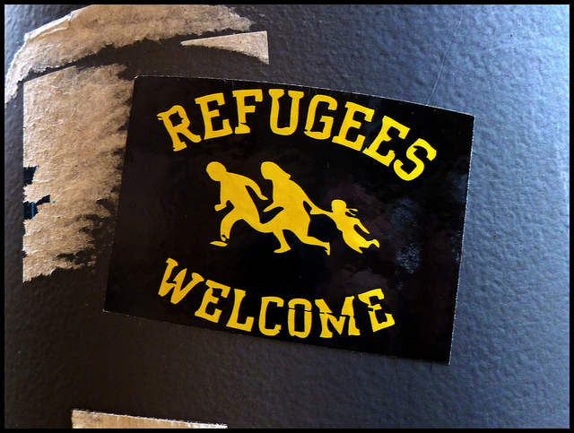 Es ist genug für alle da. Refugees welcome!