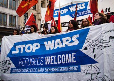 Stop Wars – Gemeinsam gegen Ihre Kriege!
