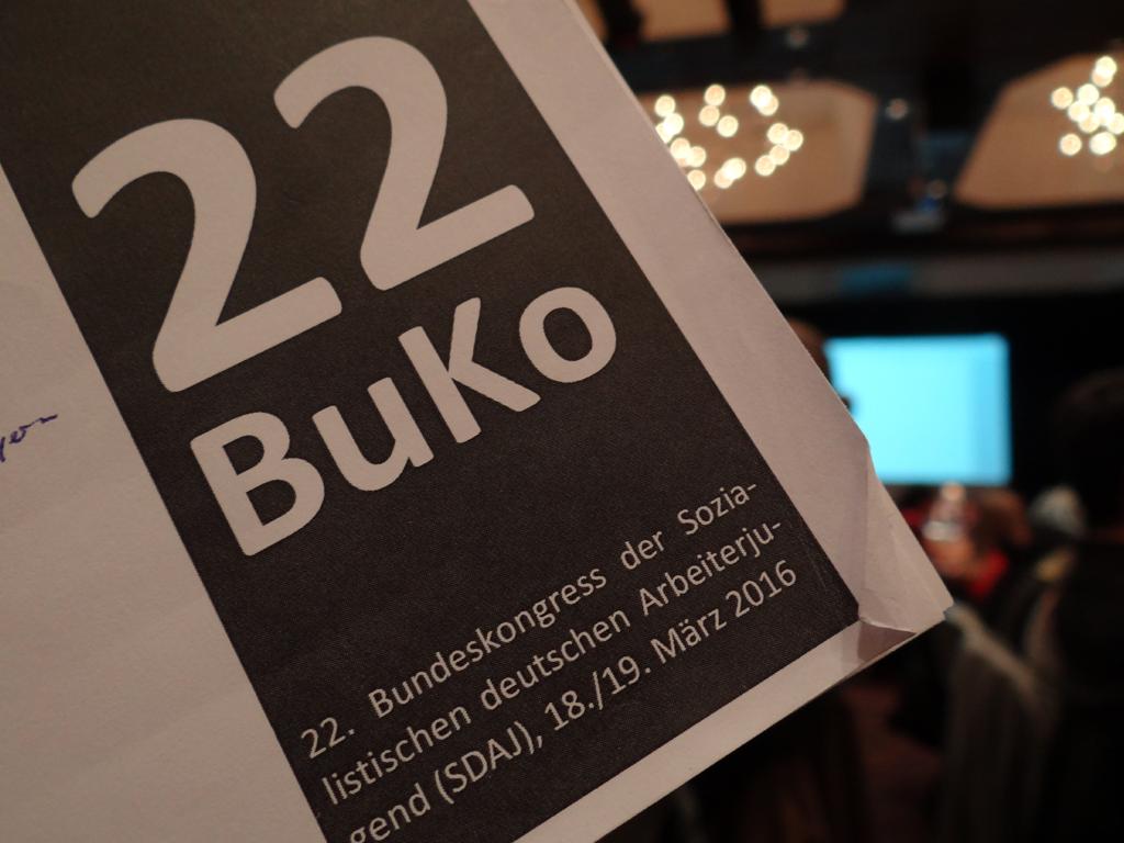 Am 19./20. März 2016 fand der 22. Bundeskongress der SDAJ statt.