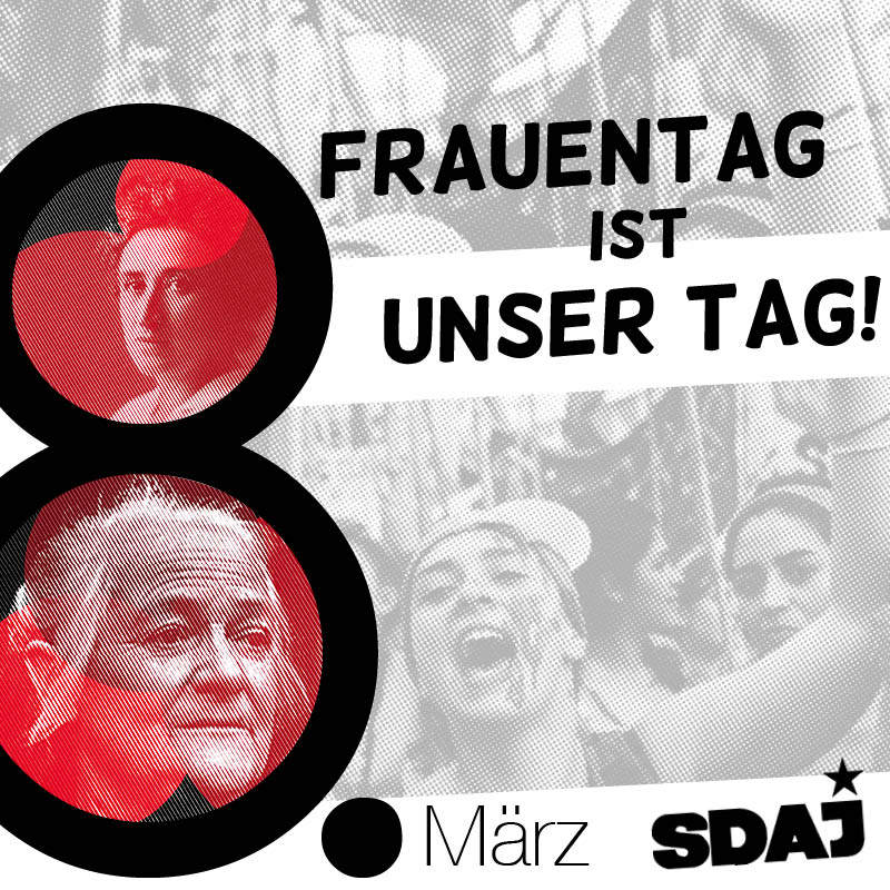 Frauentag ist unser Tag!