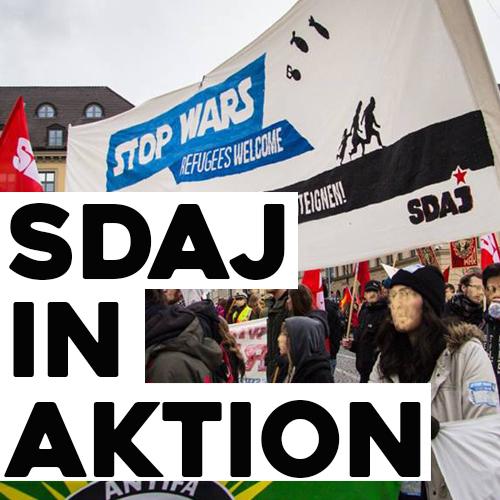Demo gegen Abschiebung in Kassel
