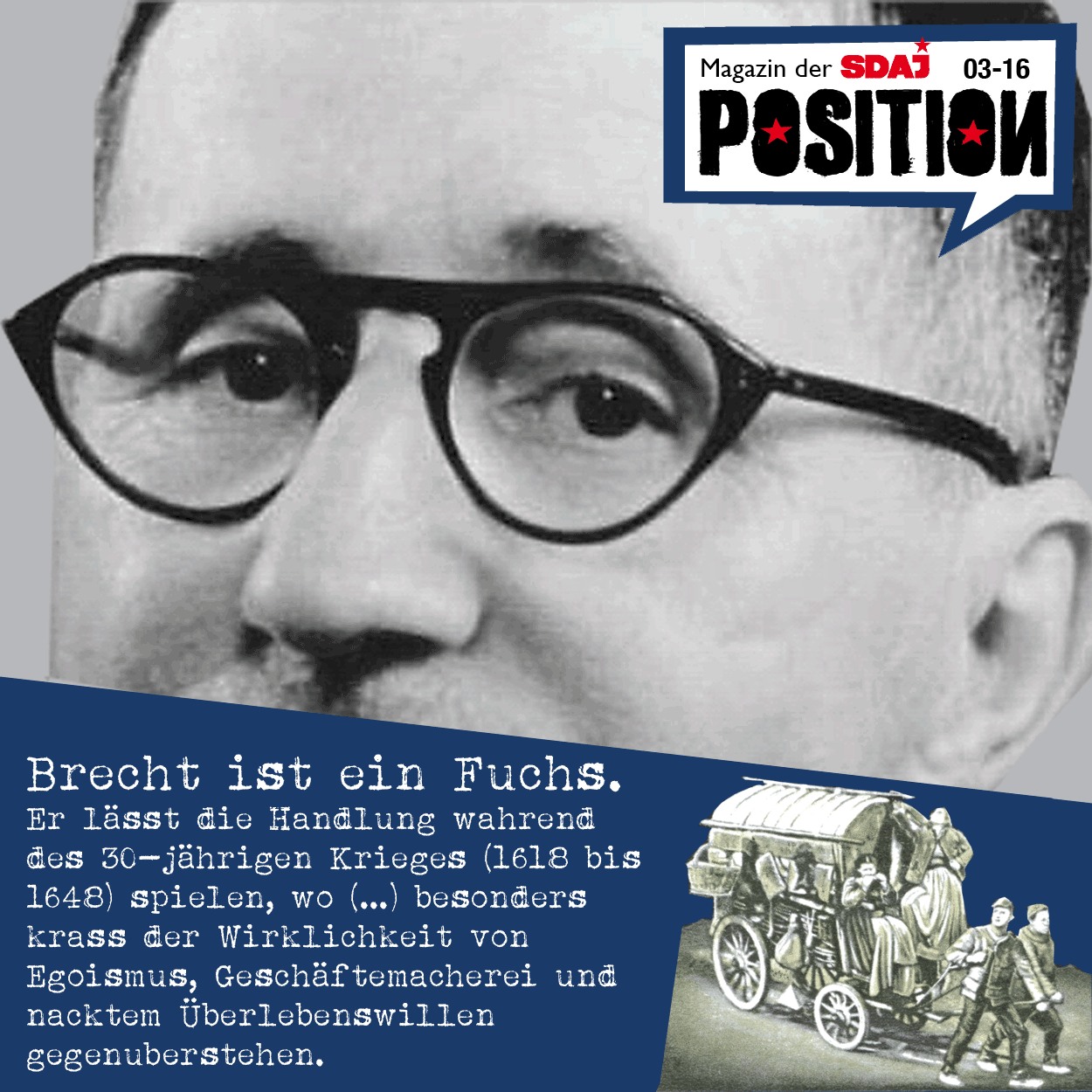 "Spickzettel: Brecht's ""Mutter Courage"""