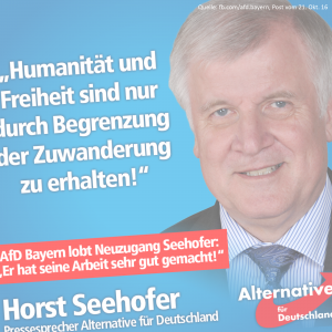 Der Offene Brief an Horst Seehofer