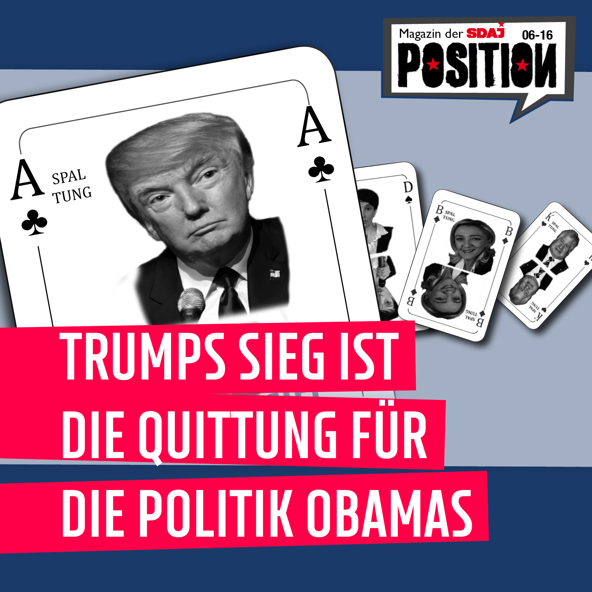 Trumps Sieg …