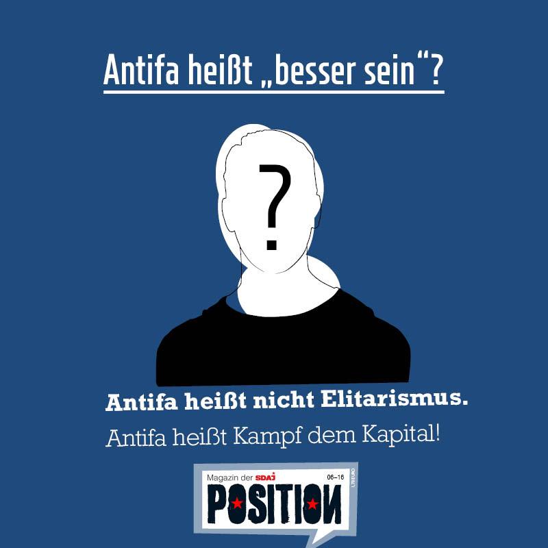 """Antifa heißt """"besser sein""""?"""
