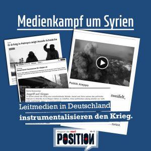 Medien-Kampf um Syrien
