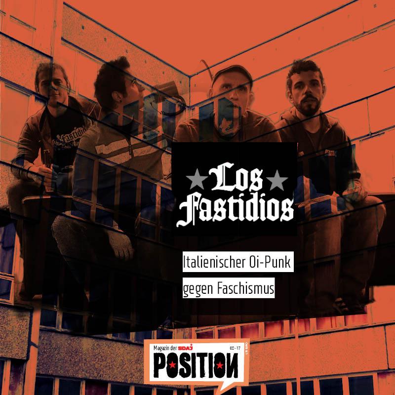 Los Fastidios auf dem Festival der Jugend