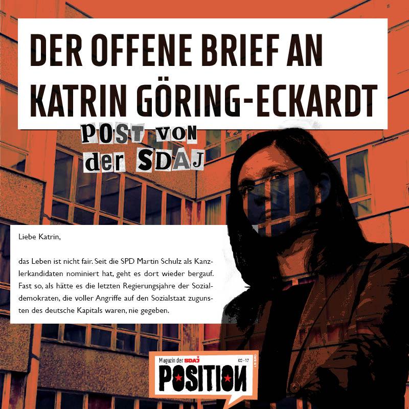 Der Offene Brief an Katrin Göring-Eckardt