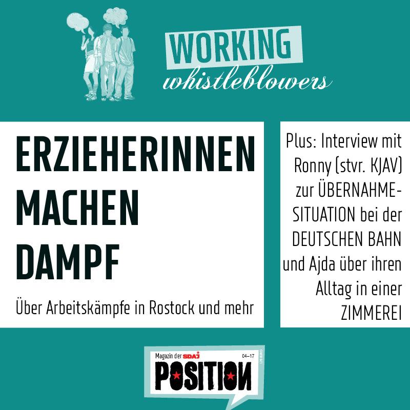 Working Wistleblower: Berichte, Interviews, Erfahrungen